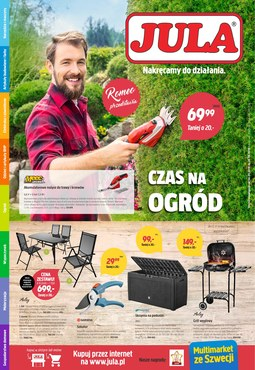 Gazetka promocyjna Jula, ważna od 04.05.2018 do 23.05.2018.
