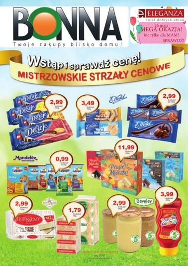 Gazetka promocyjna Bonna, ważna od 02.05.2018 do 31.05.2018.