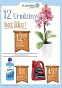 Gazetka promocyjna E.Leclerc - 12 urodziny bez liku - ważna do 13-05-2018