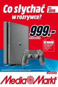 Gazetka promocyjna Media Markt, ważna od 01.05.2018 do 31.05.2018.