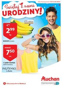 Gazetka promocyjna Auchan, ważna od 05.05.2018 do 14.05.2018.