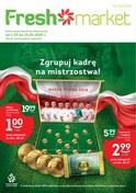 Gazetka promocyjna Freshmarket - Superoferta grillowa - ważna do 15-05-2018