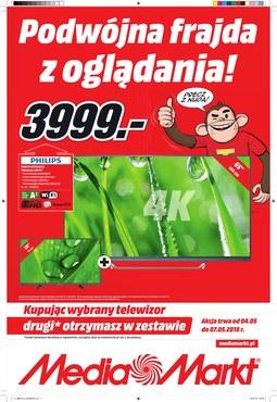 Gazetka promocyjna Media Markt, ważna od 04.05.2018 do 12.05.2018.