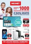 Gazetka promocyjna Neonet - 1000 prezentów na komunię - ważna do 16-05-2018