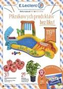 Gazetka promocyjna E.Leclerc - Piknikowych produktów bez liku - ważna do 19-05-2018
