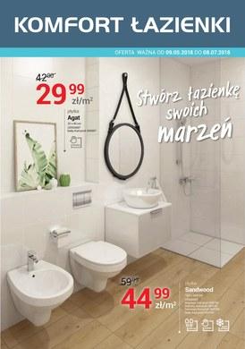 Gazetka promocyjna Komfort Łazienki - Stwórz łazienkę swoich marzeń