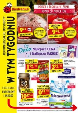 Gazetka promocyjna Biedronka, ważna od 07.05.2018 do 12.05.2018.