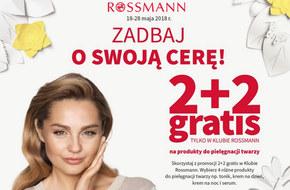 Nowa promocja Rossmann - Zadbaj o swoją cerę!  2+2 na produkty do pielęgnacji twarzy