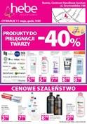 Gazetka promocyjna Hebe - Produkty do pielęgnacji twarzy  - ważna do 07-05-2018