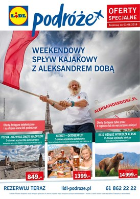 Gazetka promocyjna Lidl - Podróże