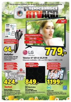 Gazetka promocyjna Specjaliści RTV AGD - Oferta handlowa
