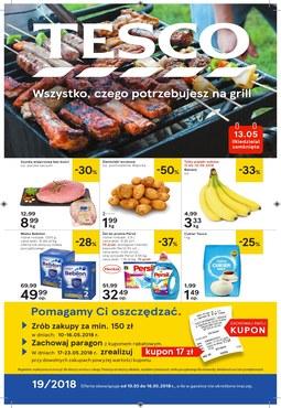 Gazetka promocyjna Tesco Hipermarket, ważna od 10.05.2018 do 16.05.2018.