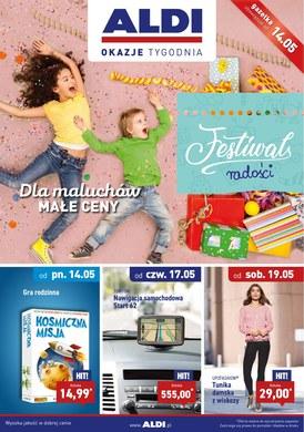 Gazetka promocyjna Aldi - Festiwal radości