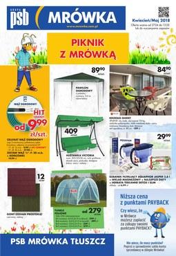 Gazetka promocyjna PSB Mrówka, ważna od 27.04.2018 do 13.06.2018.