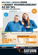 Gazetka promocyjna Saturn - Rabat technologiczny aż do 15%  - ważna do 16-05-2018