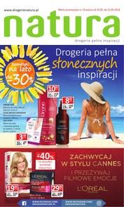 Gazetka promocyjna Drogerie Natura, ważna od 10.05.2018 do 23.05.2018.