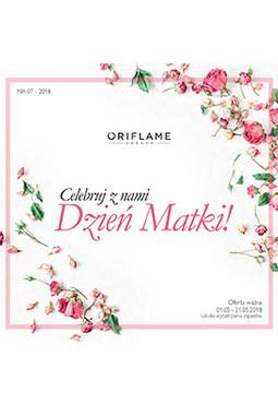 Gazetka promocyjna Oriflame, ważna od 01.05.2018 do 21.05.2018.