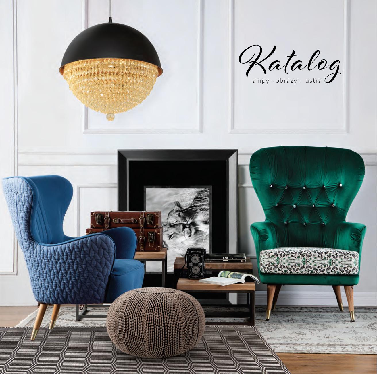 Gazetka: Katalog lampy, obrazy, lustra 2018 - strona 1