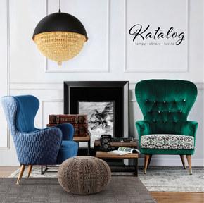 Katalog lampy, obrazy, lustra 2018