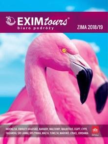 Gazetka promocyjna EXIM Tours, ważna od 01.11.2018 do 28.02.2019.