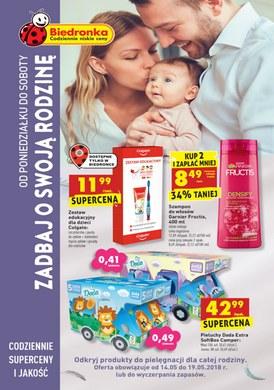 Gazetka promocyjna Biedronka - Zadbaj o swoją rodzinę