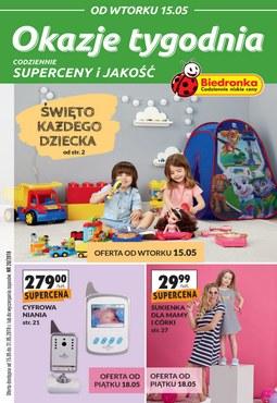 Gazetka promocyjna Biedronka, ważna od 15.05.2018 do 31.05.2018.