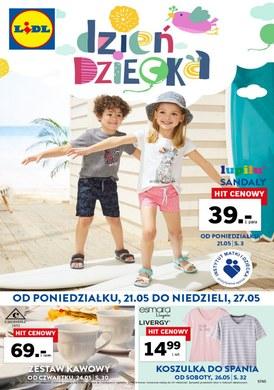 Gazetka promocyjna Lidl - Dzień dziecka