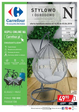 Gazetka promocyjna Carrefour - Stylowo i ogrodowo