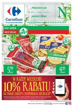 Gazetka promocyjna Carrefour, ważna od 15.05.2018 do 27.05.2018.
