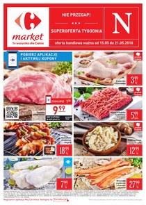 Gazetka promocyjna Carrefour Market, ważna od 15.05.2018 do 21.05.2018.