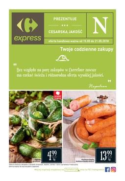 Gazetka promocyjna Carrefour Express, ważna od 15.05.2018 do 21.05.2018.