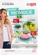 Gazetka promocyjna Agata  - Majowe promocje - ważna do 27-05-2018