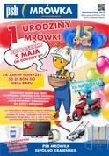 Gazetka promocyjna PSB Mrówka - 1 urodziny mrówki - Sępólno Krajeńskie  - ważna do 19-05-2018