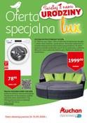 Gazetka promocyjna Auchan - Oferta specjalna lux - ważna do 31-05-2018