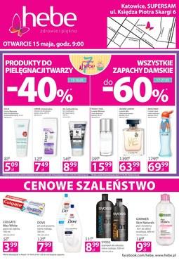 Gazetka promocyjna Hebe, ważna od 15.05.2018 do 18.05.2018.