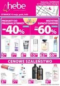 Gazetka promocyjna Hebe - Cenowe szaleństwo - Katowice - ważna do 18-05-2018