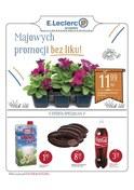 Gazetka promocyjna E.Leclerc - Majowych promocji bez liku! - ważna do 19-05-2018