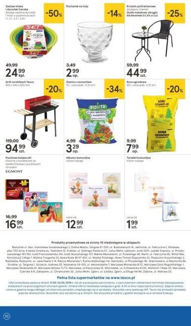 Gazetka promocyjna Tesco Supermarket, ważna od 17.05.2018 do 23.05.2018.