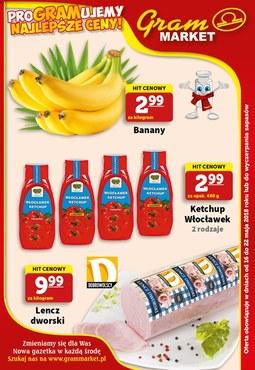 Gazetka promocyjna Gram Market, ważna od 16.05.2018 do 22.05.2018.