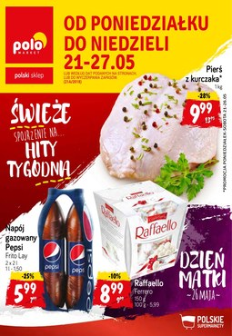 Gazetka promocyjna POLOmarket, ważna od 21.05.2018 do 27.05.2018.