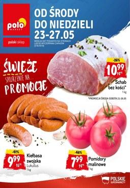 Gazetka promocyjna POLOmarket, ważna od 23.05.2018 do 27.05.2018.