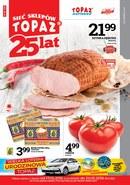 Gazetka promocyjna Topaz - 25 lat