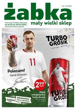 Gazetka promocyjna Żabka, ważna od 16.05.2018 do 29.05.2018.