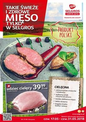 Gazetka promocyjna Selgros Cash&Carry - Takie świeże i zdrowe mięso tylko w Selgros