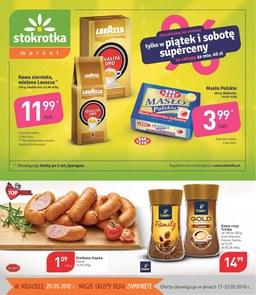 Gazetka promocyjna Stokrotka, ważna od 17.05.2018 do 23.05.2018.