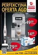 Gazetka promocyjna Selgros Cash&Carry - Perfekcyjna oferta AGD - ważna do 31-05-2018
