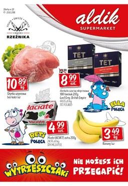 Gazetka promocyjna Aldik, ważna od 17.05.2018 do 23.05.2018.