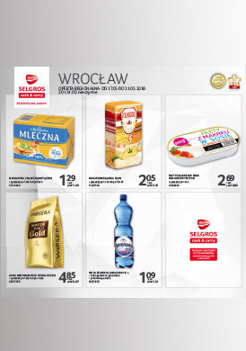 Gazetka promocyjna Selgros Cash&Carry - Oferta handlowa - Wrocław