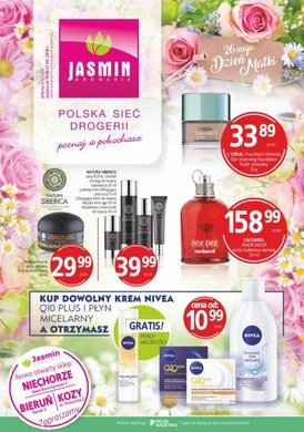 Gazetka promocyjna Jasmin Drogerie - Dzień matki