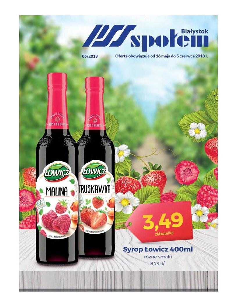 PSS Społem Białystok: 1 gazetka